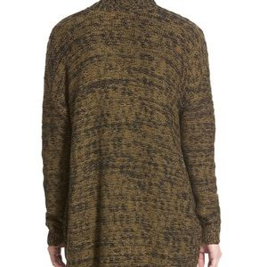 bp Sweaters - BP Cable Front Marled Cardigan